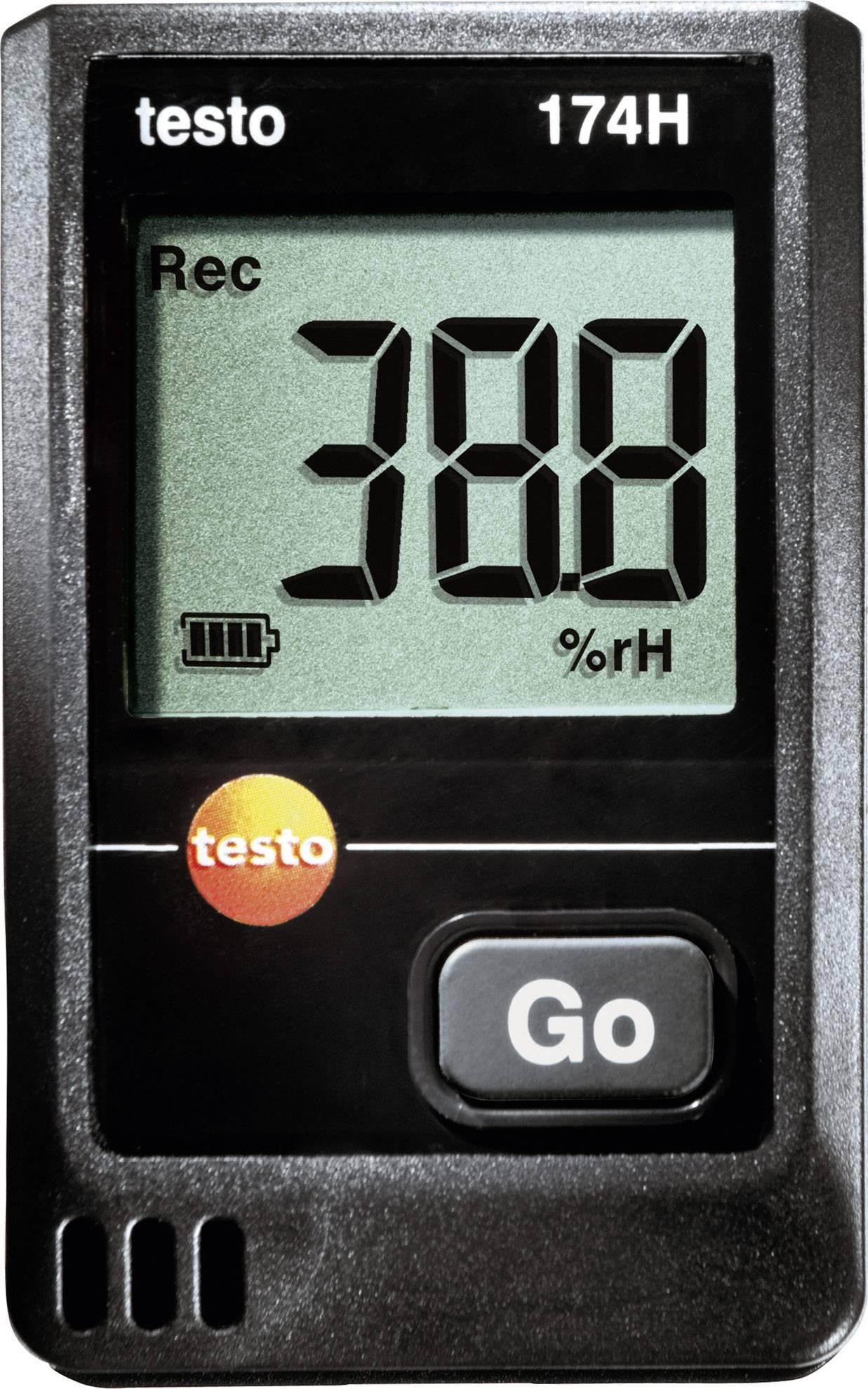 Teplotný datalogger testo 174H, -20 až +70 °C