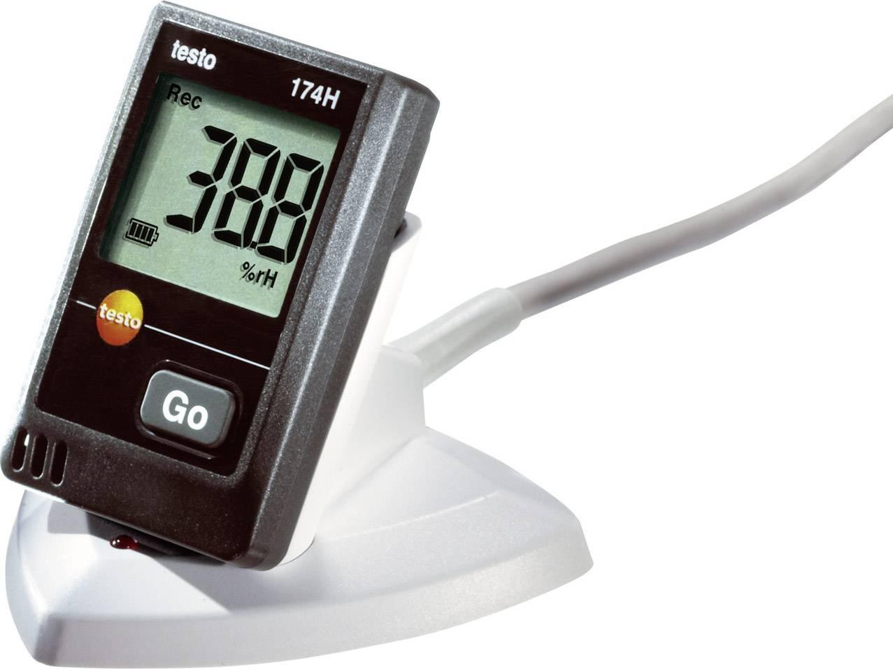 Teplotný datalogger testo 174H sada, -20 až +70 °C