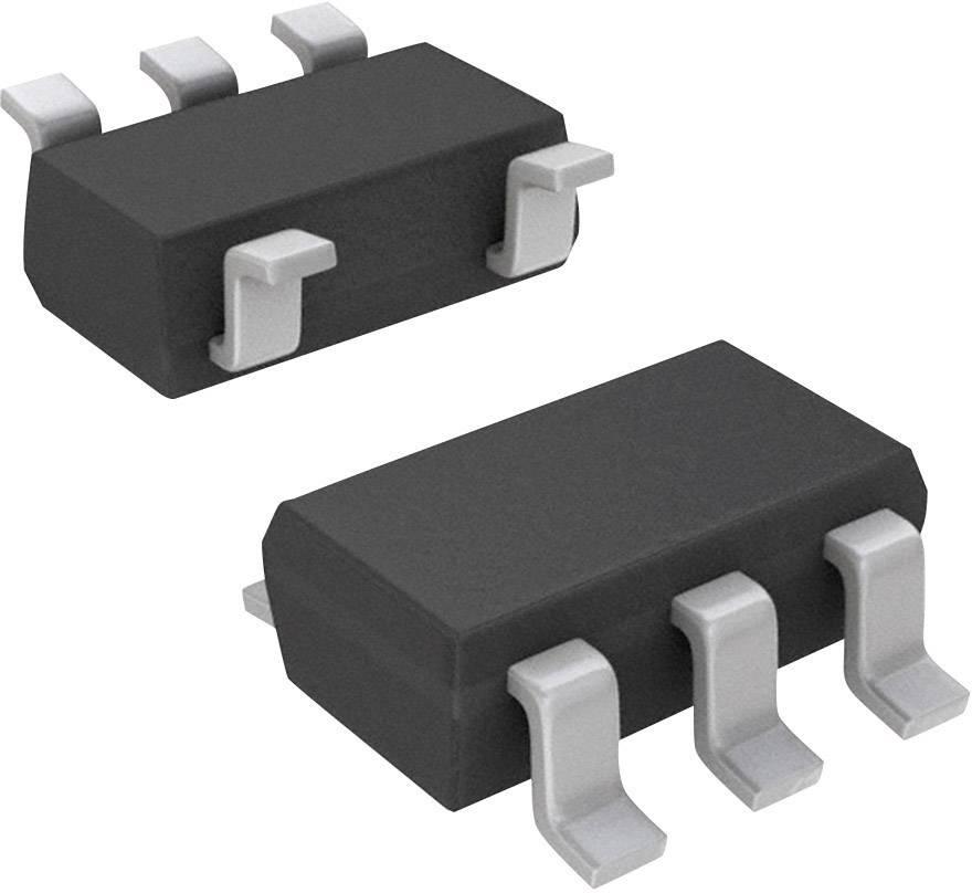 Zesilovač pro speciální použití Texas Instruments SN10501DBVT, Rail-to-Rail, SOT-23-5, 170 MHz