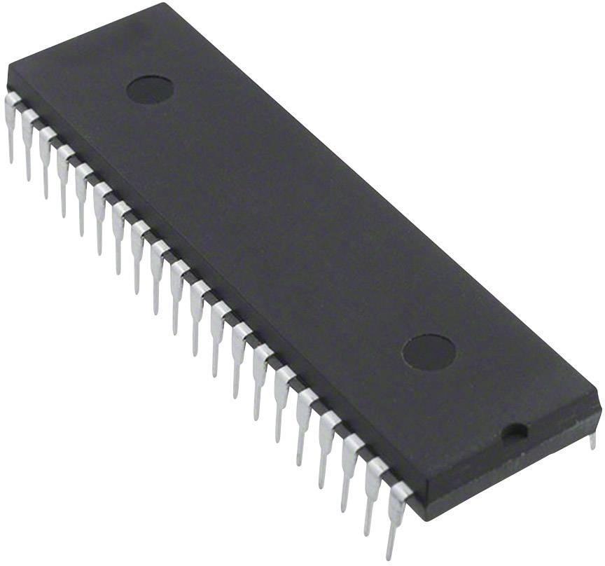 PMIC ovladač displeje Microchip Technology TC7117CPL LED 7segmentový A/D 3,5 číslic 800 µA PDIP-40