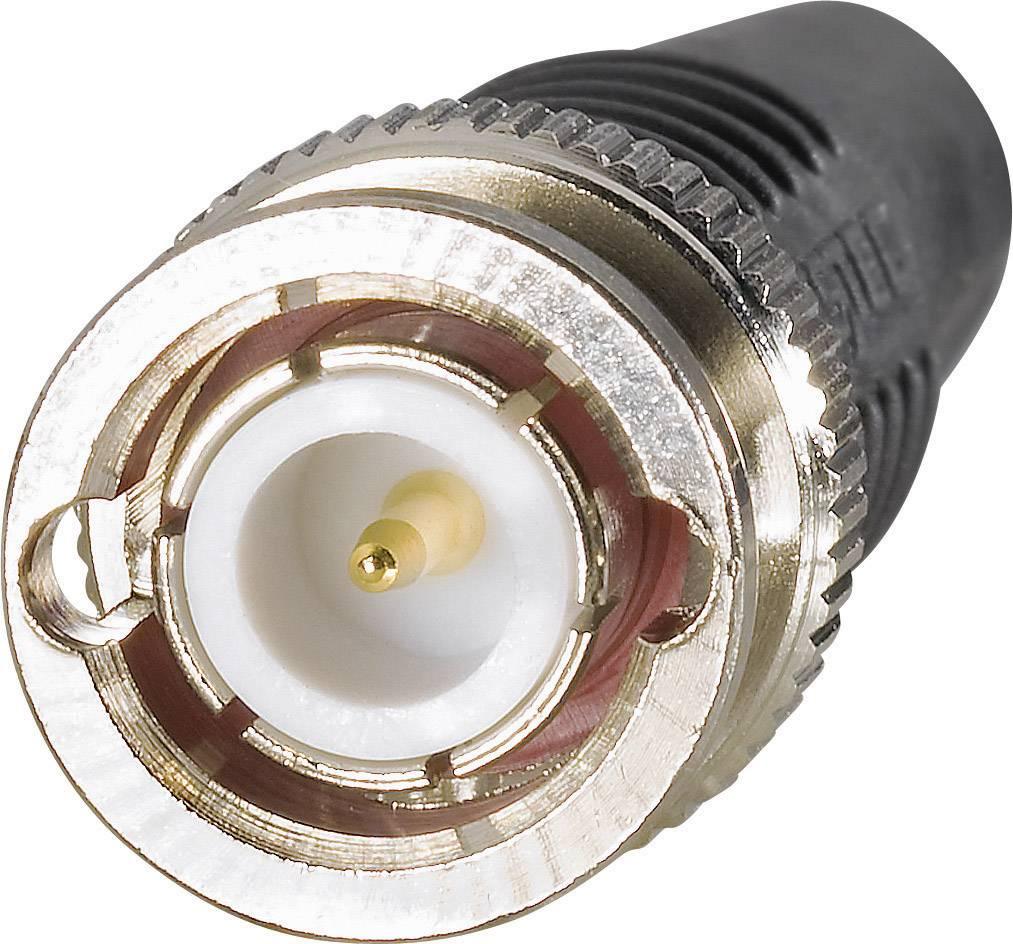 Prodlužovací kabel BNC Testec 81121, RG58, 1 m, černá
