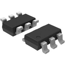 Logické IO - brána a měnič - konfigurovatelné Texas Instruments SN74AUP1G57DBVR asymetrický SOT-23-6