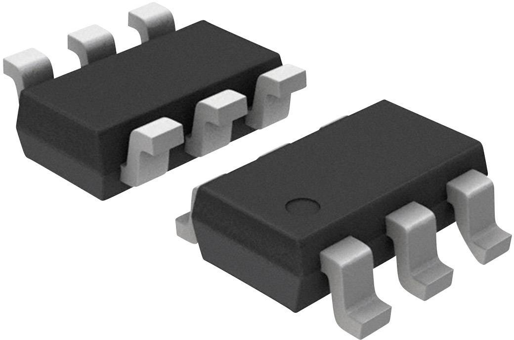 PMIC spínač distribuce výkonu, Load Driver Texas Instruments TPS22929DDBVT high-side SOT-23-6