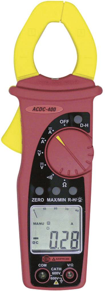Klešťový digitální ampérmetr Beha Amprobe ACDC-400-D