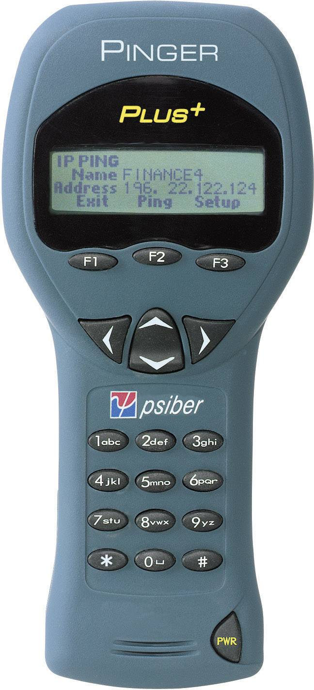 Tester inštalácie sieťových káblov Psiber Data PNG65, 226004