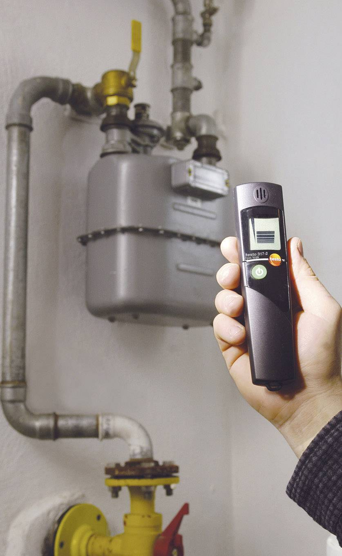 Detektor úniku plynu testo 317