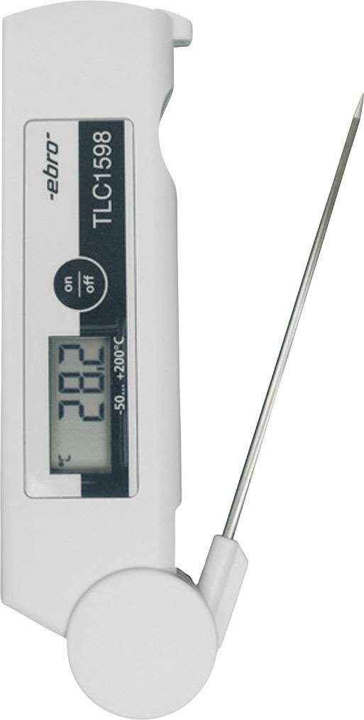 Vpichový teplomer ebro TLC 1598, -50 až +200 °C
