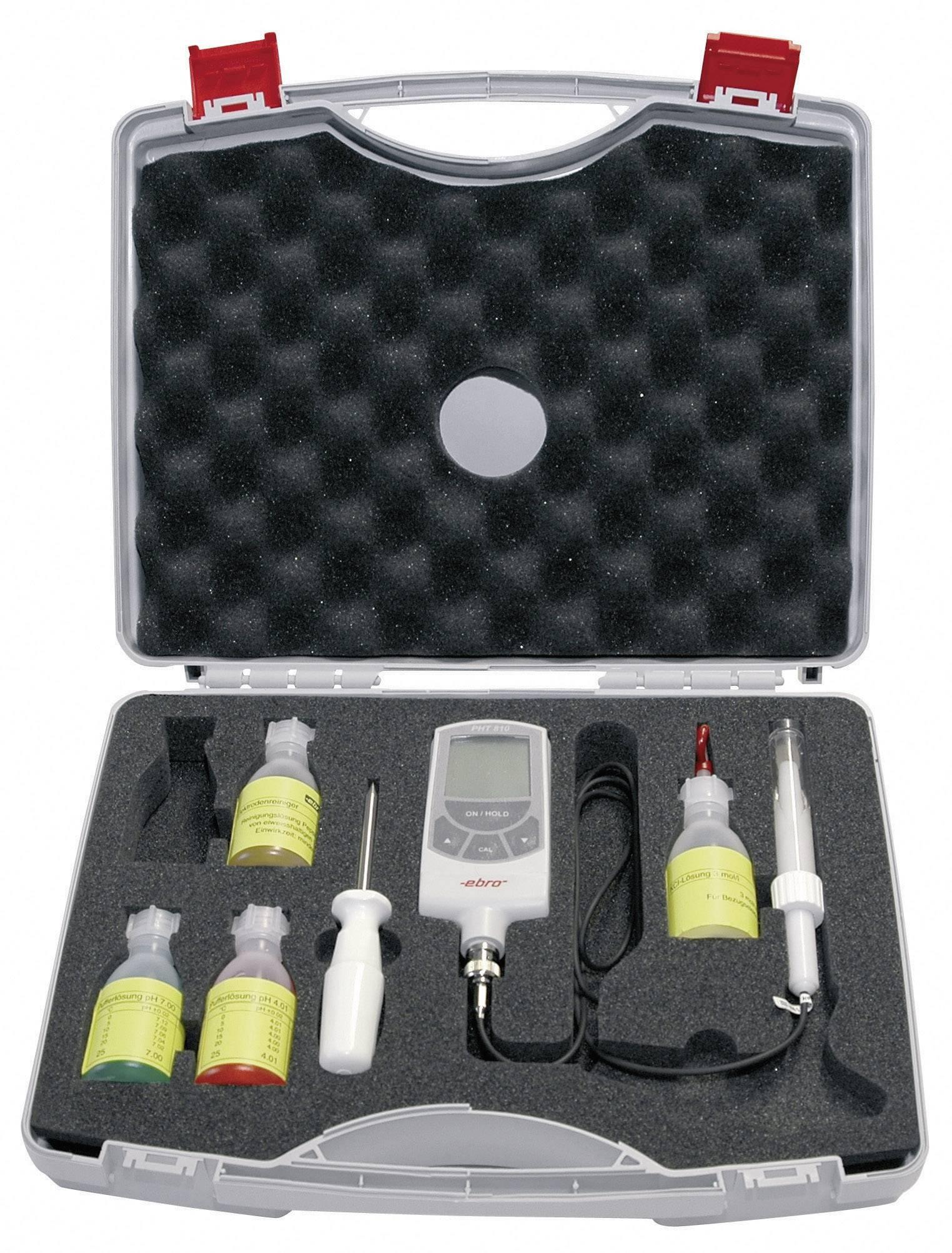 Sada pH metra ebro ST 1000, presnosť 0.03 pH, rozsah 0 až 14 pH