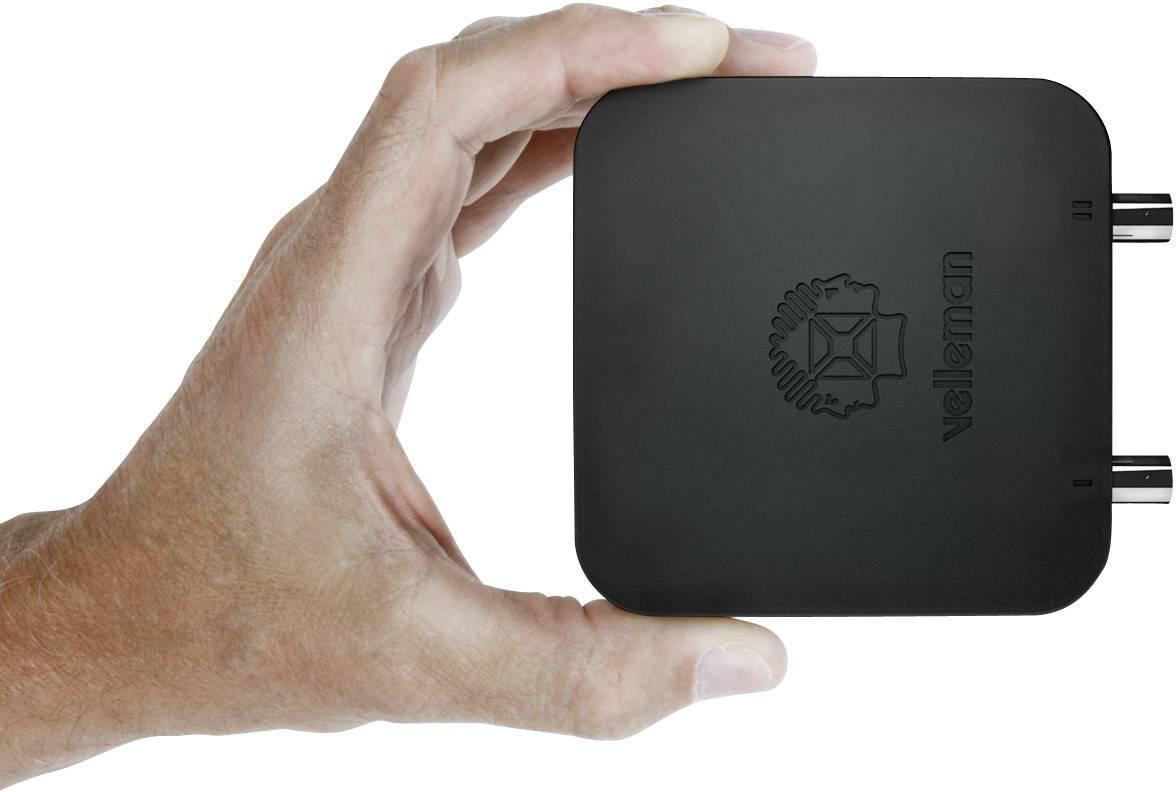 USB, PC osciloskop Velleman PCSU200, 12 MHz, 2-kanálový