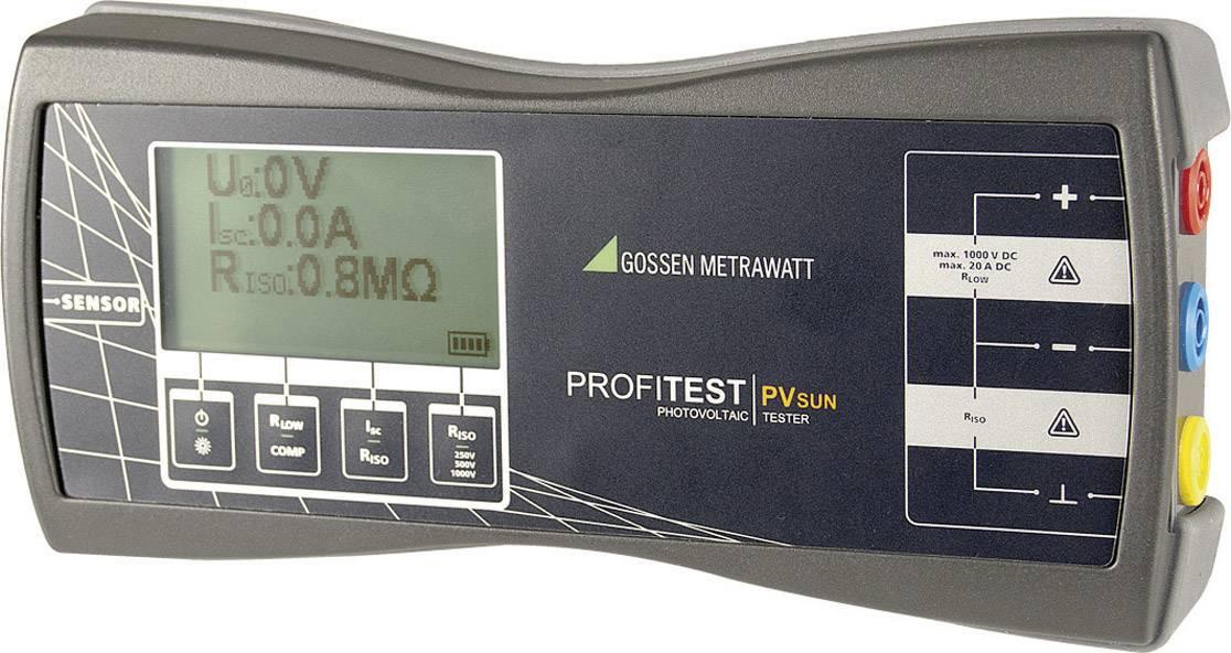 Fotovoltaický tester GMC Profitest PV Sun, M360C