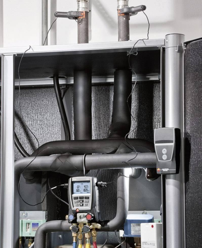 Digitálny servisný prístroj pre chladiace systémy testo 570-2 set, 2x sonda + kufor