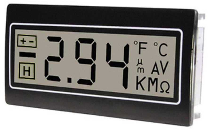 Panelové meradlo TDE Instruments DPM961-R, 22.2 x 45 mm