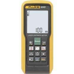 Laserový měřič vzdálenosti Fluke 424D, Rozsah měření (max.) 100 m, Kalibrováno dle ISO