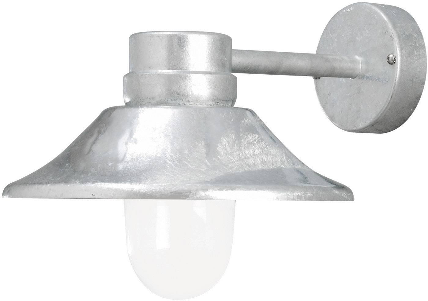 LEDvonkajšie nástennéosvetlenie 5 W teplá biela Konstsmide Vega 412-320 oceľová