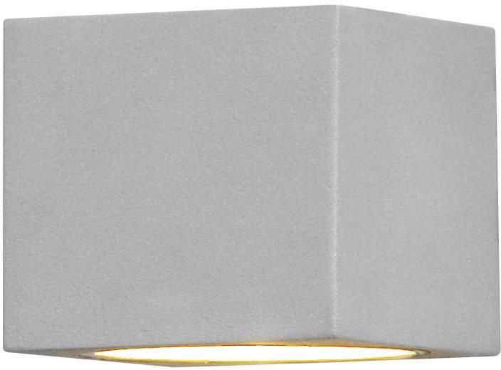 Vonkajšieosvetlenie Konstsmide Modena 7341-300, G9, 25 W, hliník, sivá