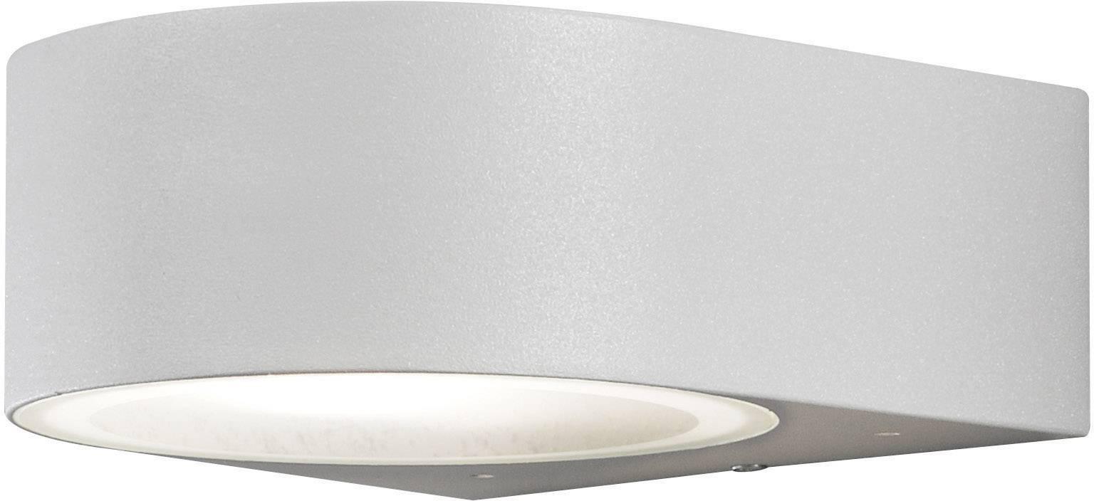 Vonkajšieosvetlenie Konstsmide Teramo 7510-300, E27, 40 W, hliník, sivá