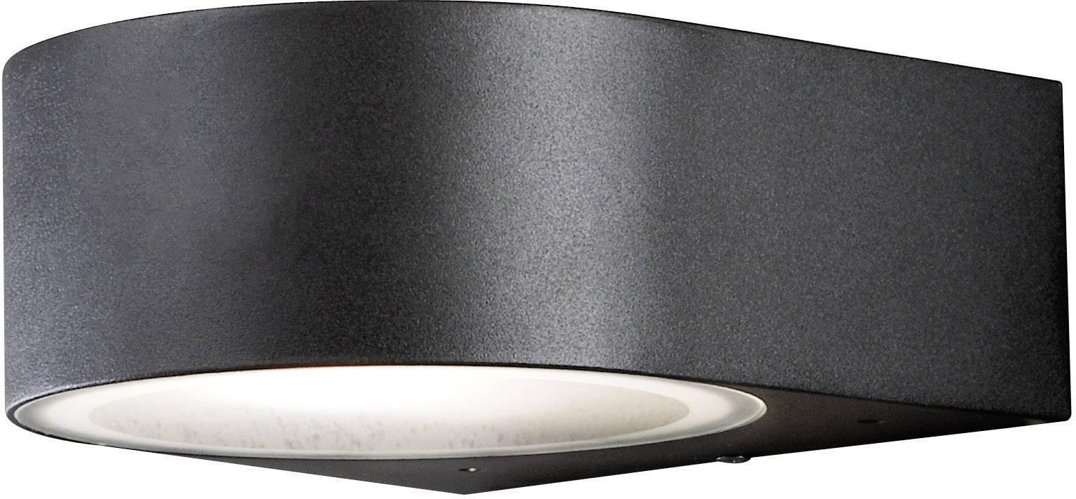 Vonkajšieosvetlenie Konstsmide Teramo 7510-750, E27, 40 W, hliník, čierna