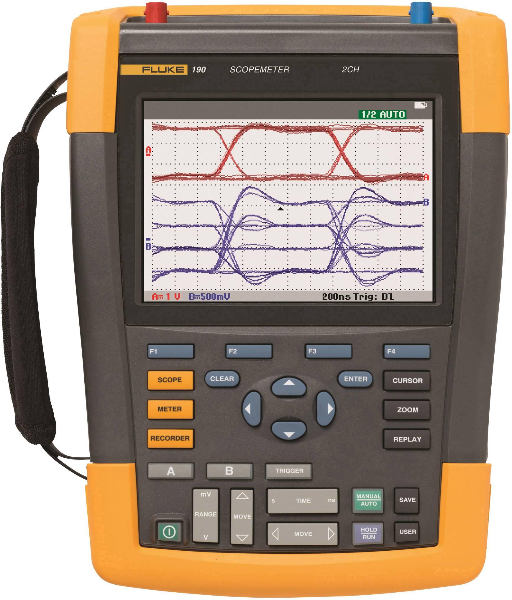 Ručný osciloskop Fluke ScopeMeter 190-102, 100 MHz, 2-kanálová