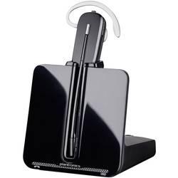 Telefonní headset DECT bez kabelu, mono Plantronics CS540 + HL10 do uší černá, stříbrná
