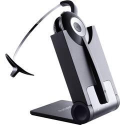 Telefonní headset DECT bez kabelu, mono Jabra PRO920 na uši černá, stříbrná
