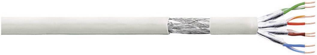 Síťový kabel F/UTP Cat 6 LogiLink CP2100S, stíněný, 100 m, šedá