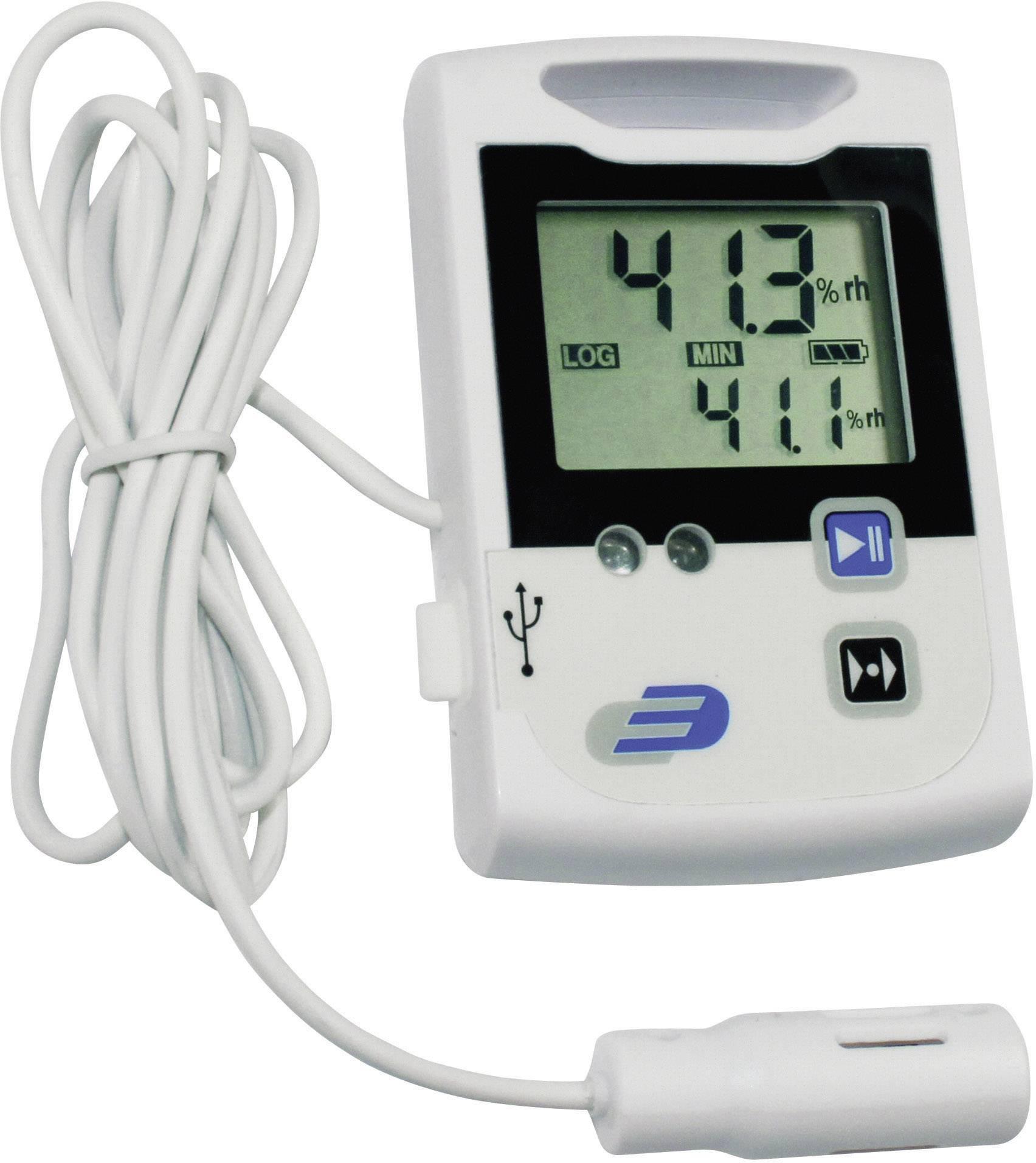 Teplotný/vlhkostný datalogger Dostmann Electronic LOG110, -30 až +70 °C