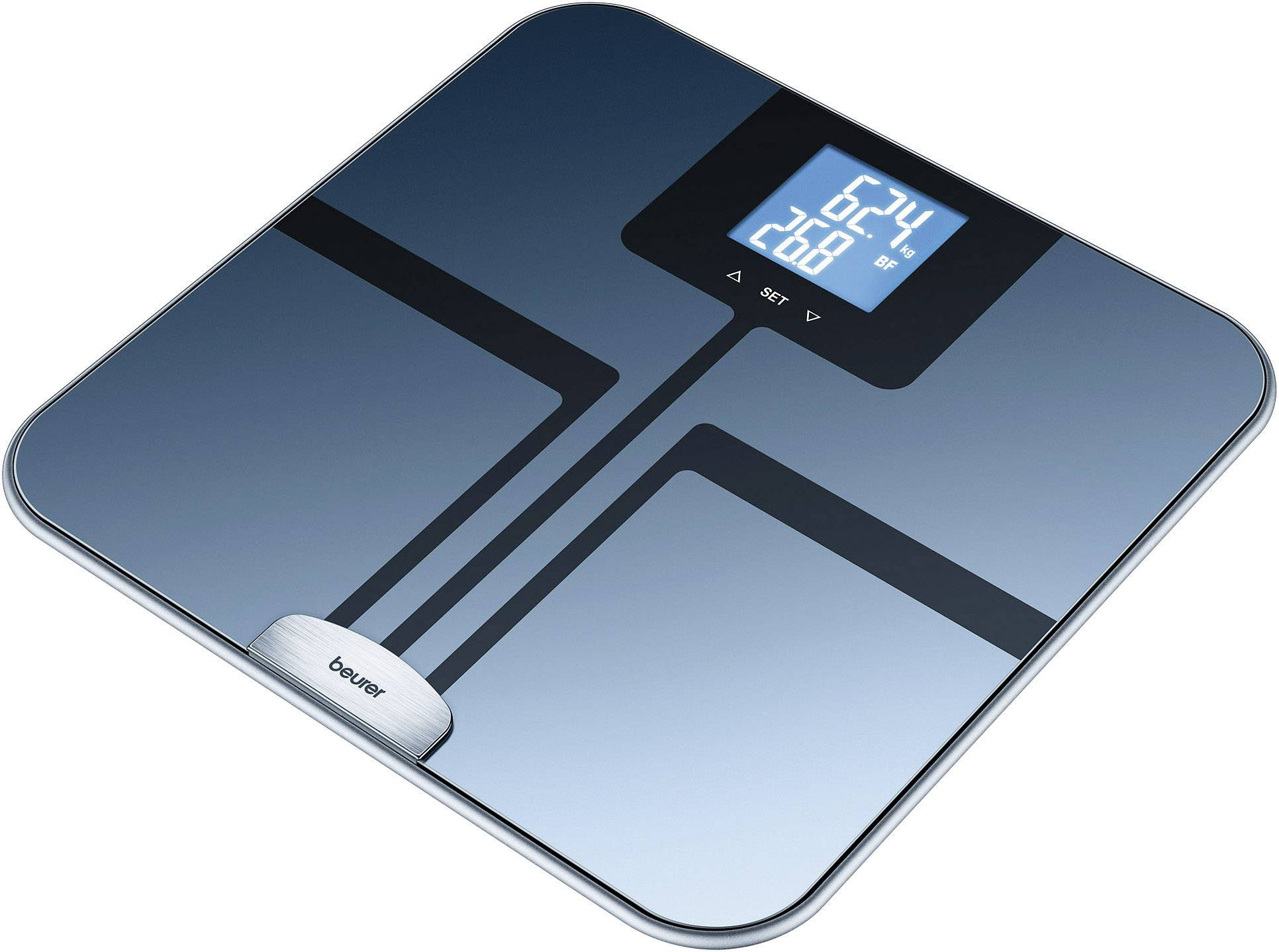 Sklenená diagnostická váha Beurer BF 750, 748.15, čierna