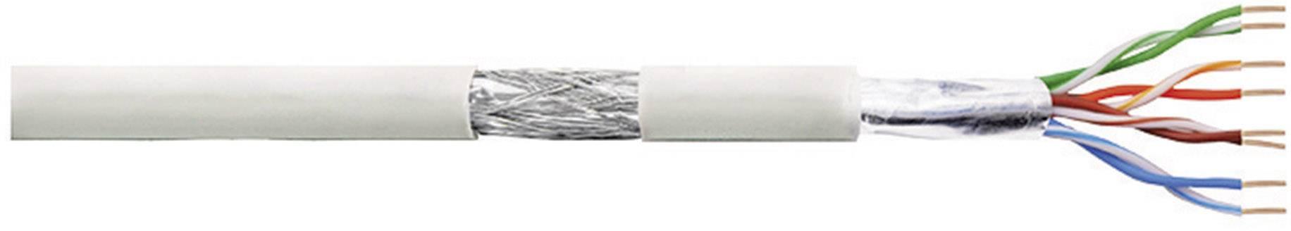 Patch kabel LogiLink CAT5E SF/UTP, šedá, 100 m