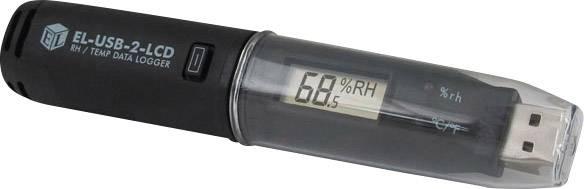 Multifunkční datalogger Lascar Electronics EL-USB-2-LCD, teplota, vlhkost vzduchu