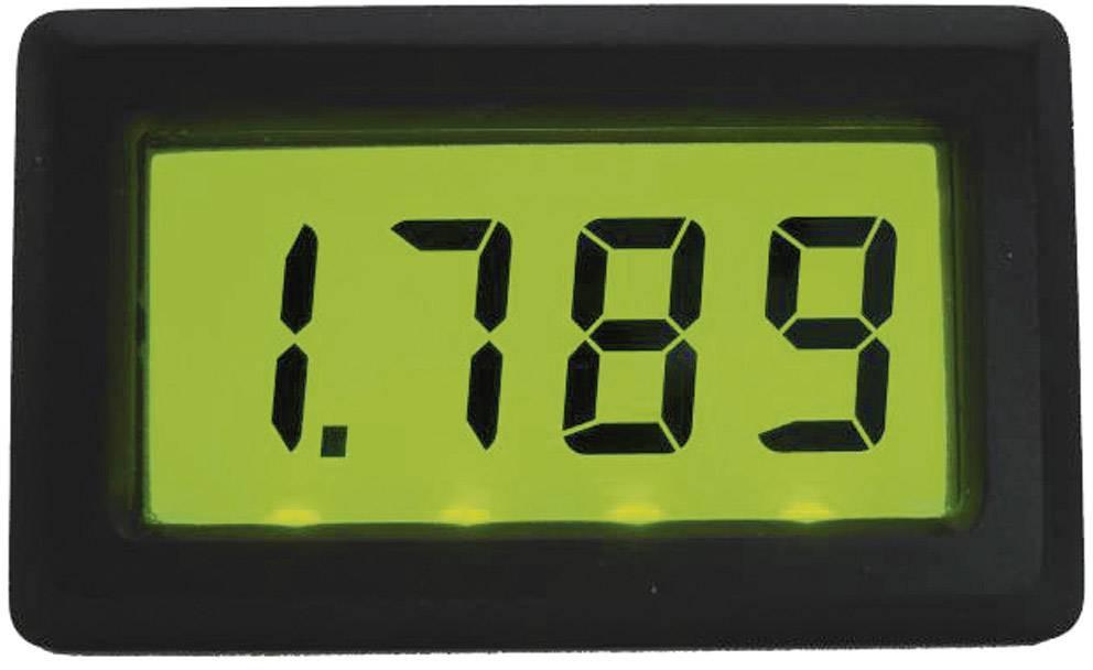 Digitálne panelové meradlo Beckmann & Egle EX3076, podsvietené, 1,999 A