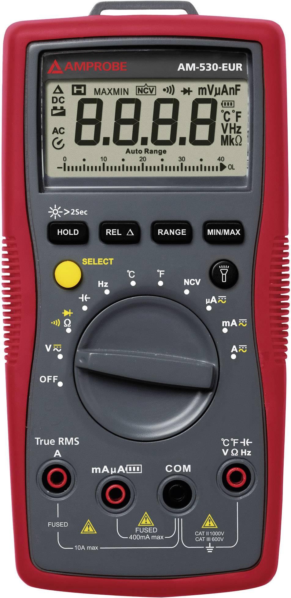 Digitálne/y ručný multimeter Beha Amprobe AM-530-EUR 4131296