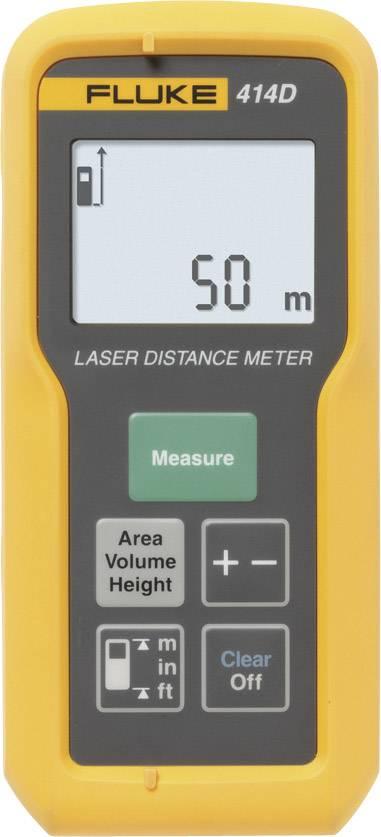 Laserovýdiaľkomer Fluke 414D, Rozsah merania (max.) 50 m