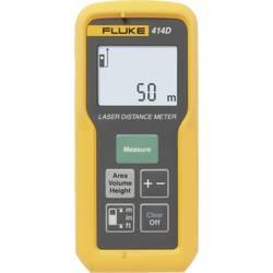 Laserový měřič vzdálenosti Fluke 414D, Rozsah měření (max.) 50 m, Kalibrováno dle ISO