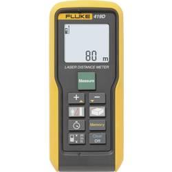 Laserový měřič vzdálenosti Fluke 419D, Rozsah měření (max.) 80 m, Kalibrováno dle ISO