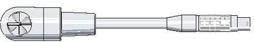 Snímač vzduchového proudění s měřením v °C testo 0635 9640