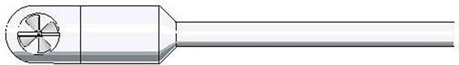 Snímač vzduchového prúdenia (vysokoteplotný) testo 0635 6045
