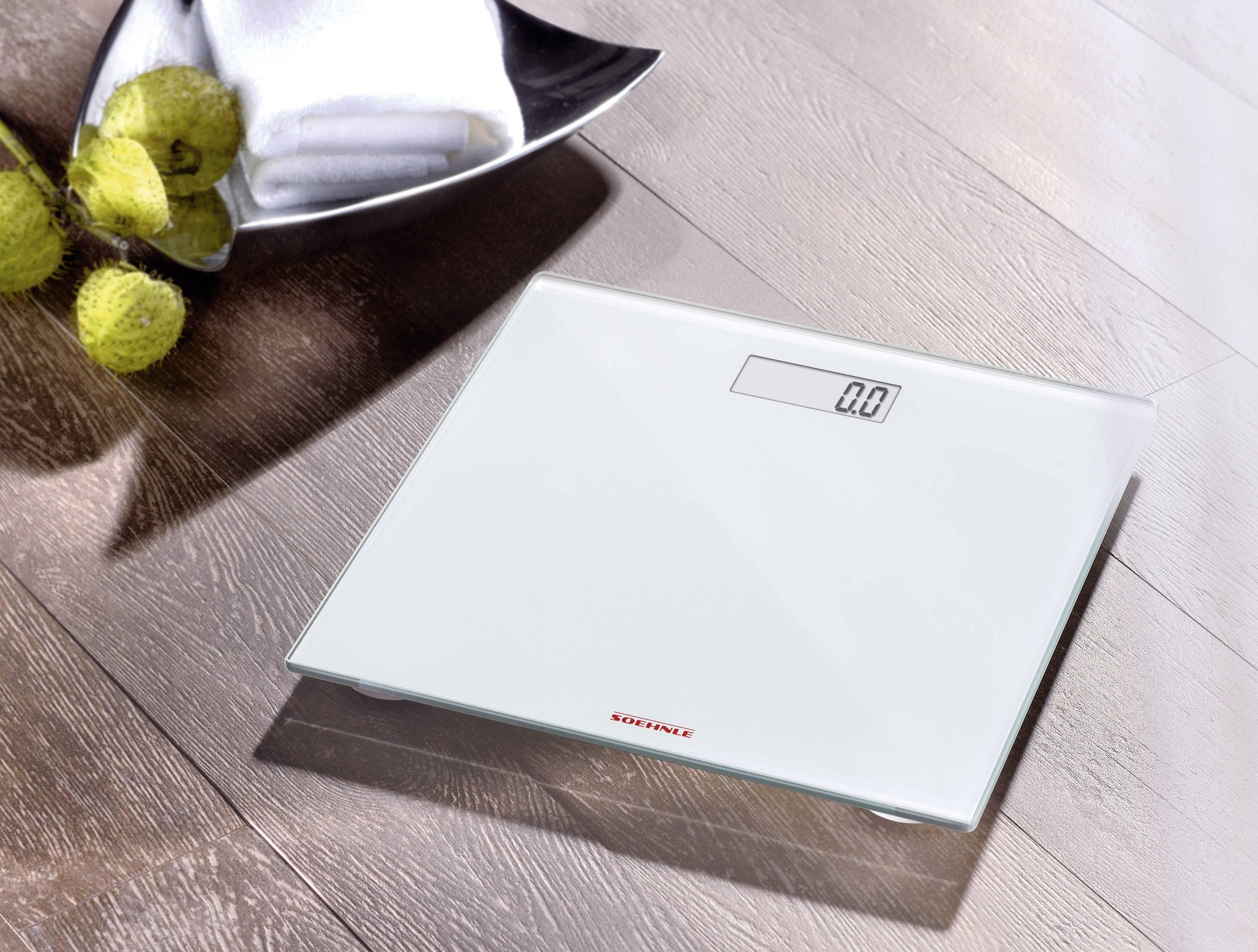 Osobná váha Soehnle Pino White, 63747, biela