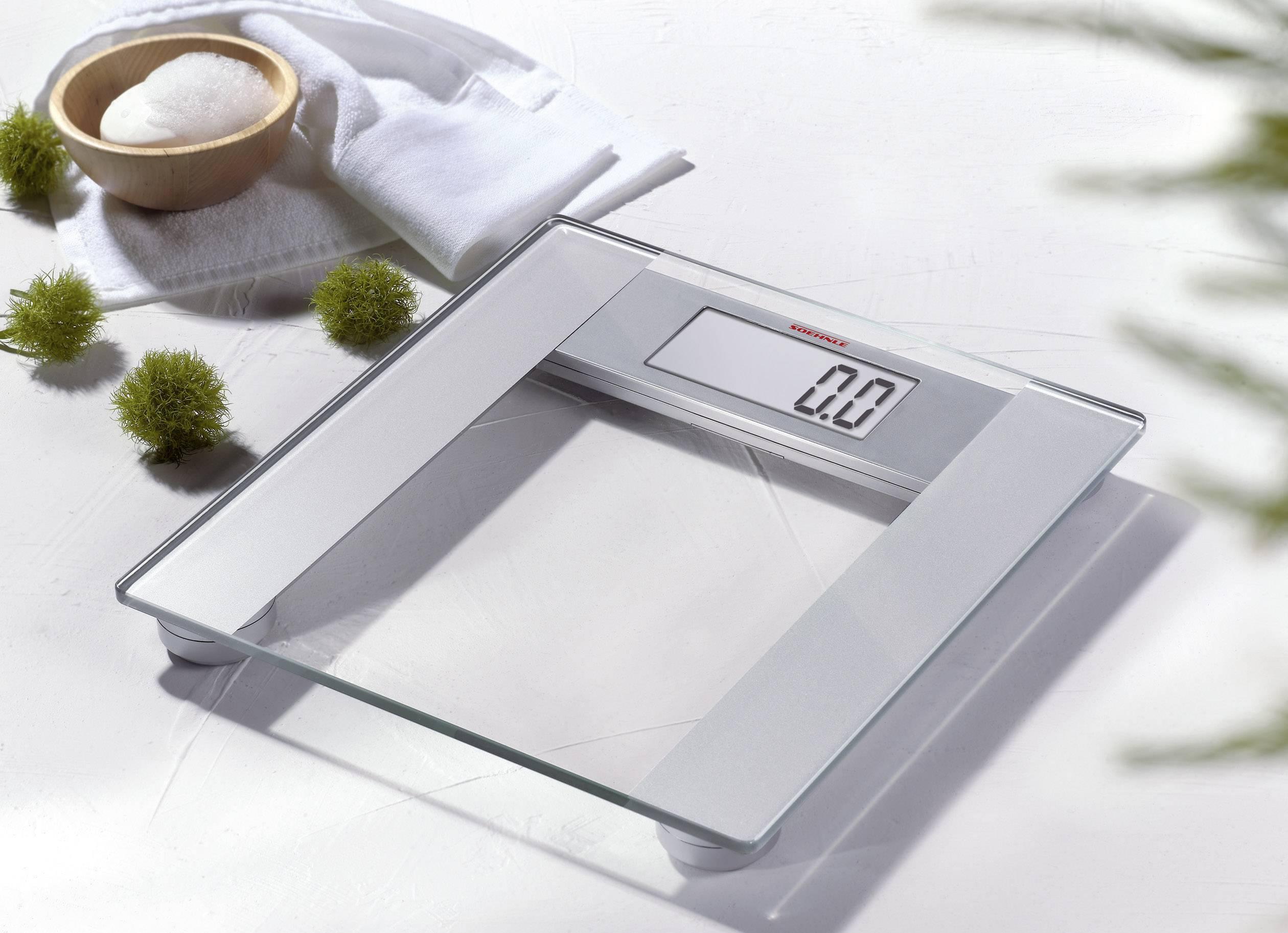 Osobní váha Soehnle Pharo 200, 63746, stříbrná