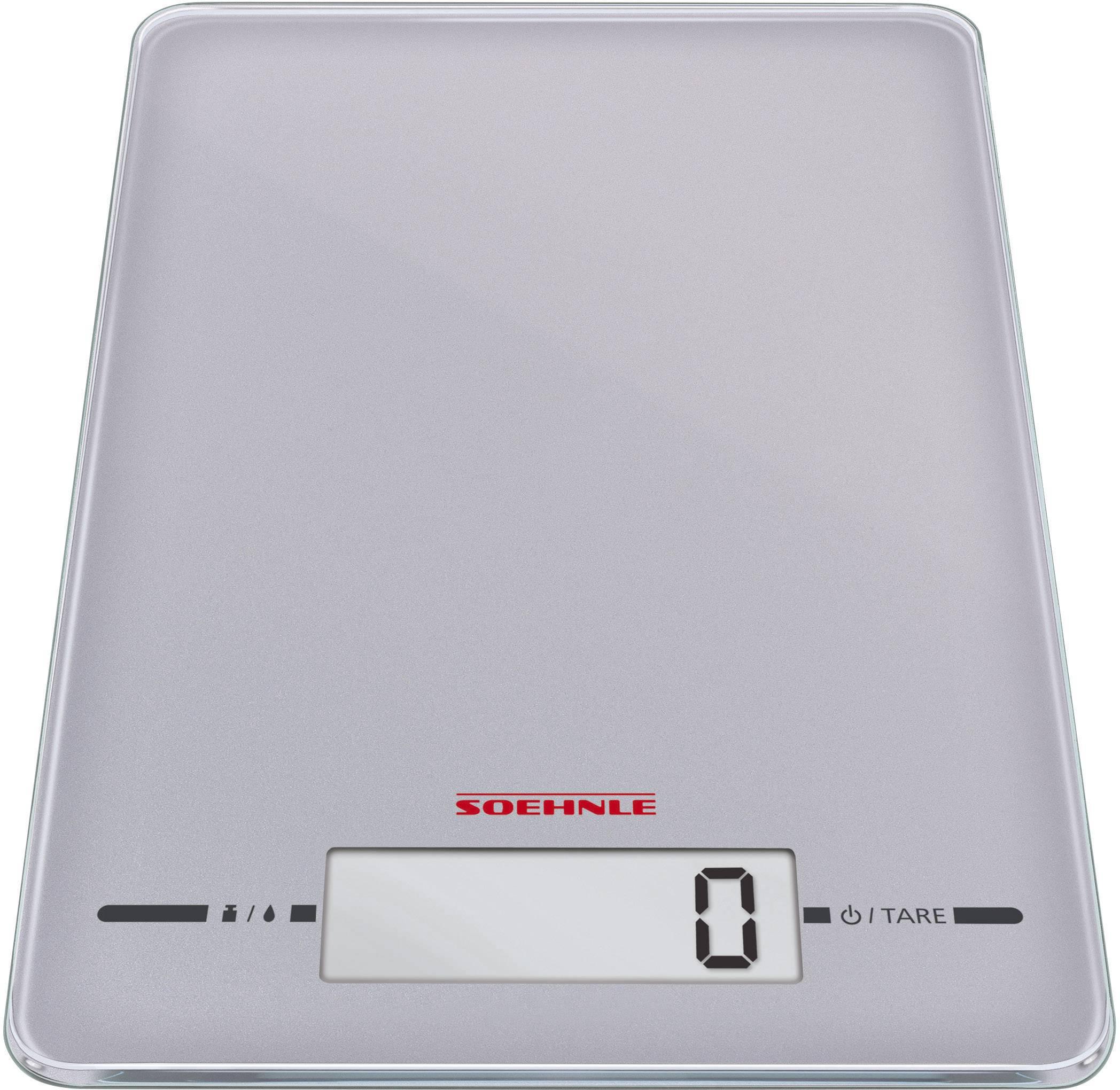 Digitálna kuchynská váha Soehnle Page Evolution silver, strieborná