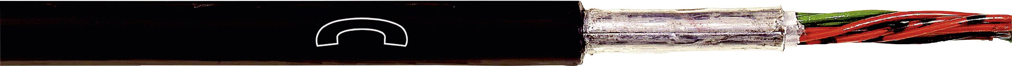 Kabel LappKabel A-2Y(L)2Y...ST III BD 10X2X0,8 (1591153), 15 mm, stíněný, černá, 500 m