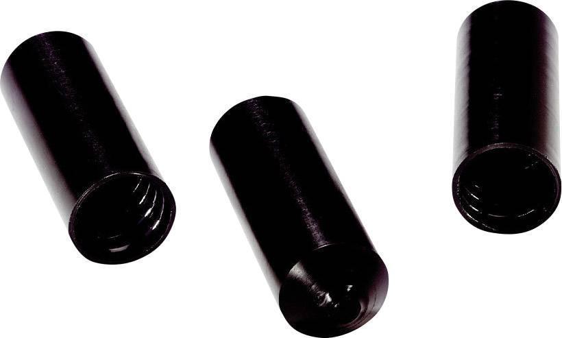 Teplem smrštitelná koncová krytka LAPP TEC 55/25, 61830040, 2:1, jmenovitý průměr (před smrštěním) 55 mm, černá, 10 ks