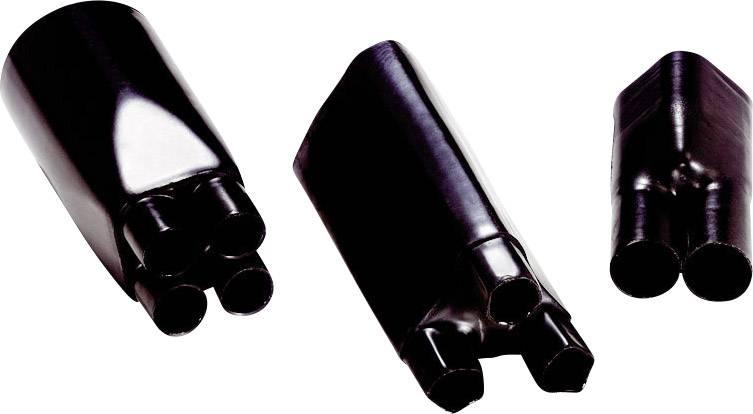 Teplem smrštitelná rozdělovací hlavice čtyřžilová LAPP TEB 4-40/15 61830140 2:1, Jmenovitý průměr (před smrštěním): 40 mm, černá, 1 ks