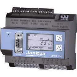 Síťový analyzátor Janitza UMG 104P 52.20.002Kalibrováno dle ISO