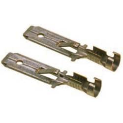 Faston konektor LAPP 63501020 6.3 mm x 0.8 mm, 180 °, bez izolace, kov, 100 ks