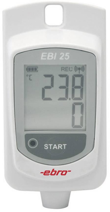 Bezdrôtový teplotný datalogger ebro EBI 25-T, -30 až +60 °C