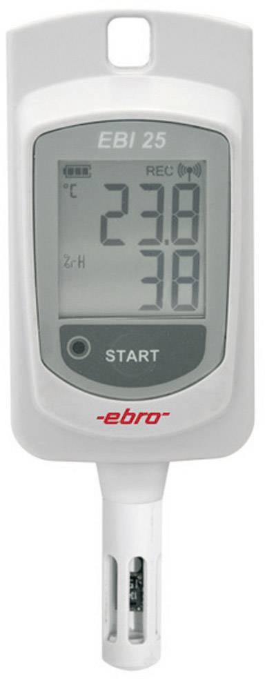 Teplotný/vlhkostný datalogger ebro EBI 25-TH, -30 až +60 °C