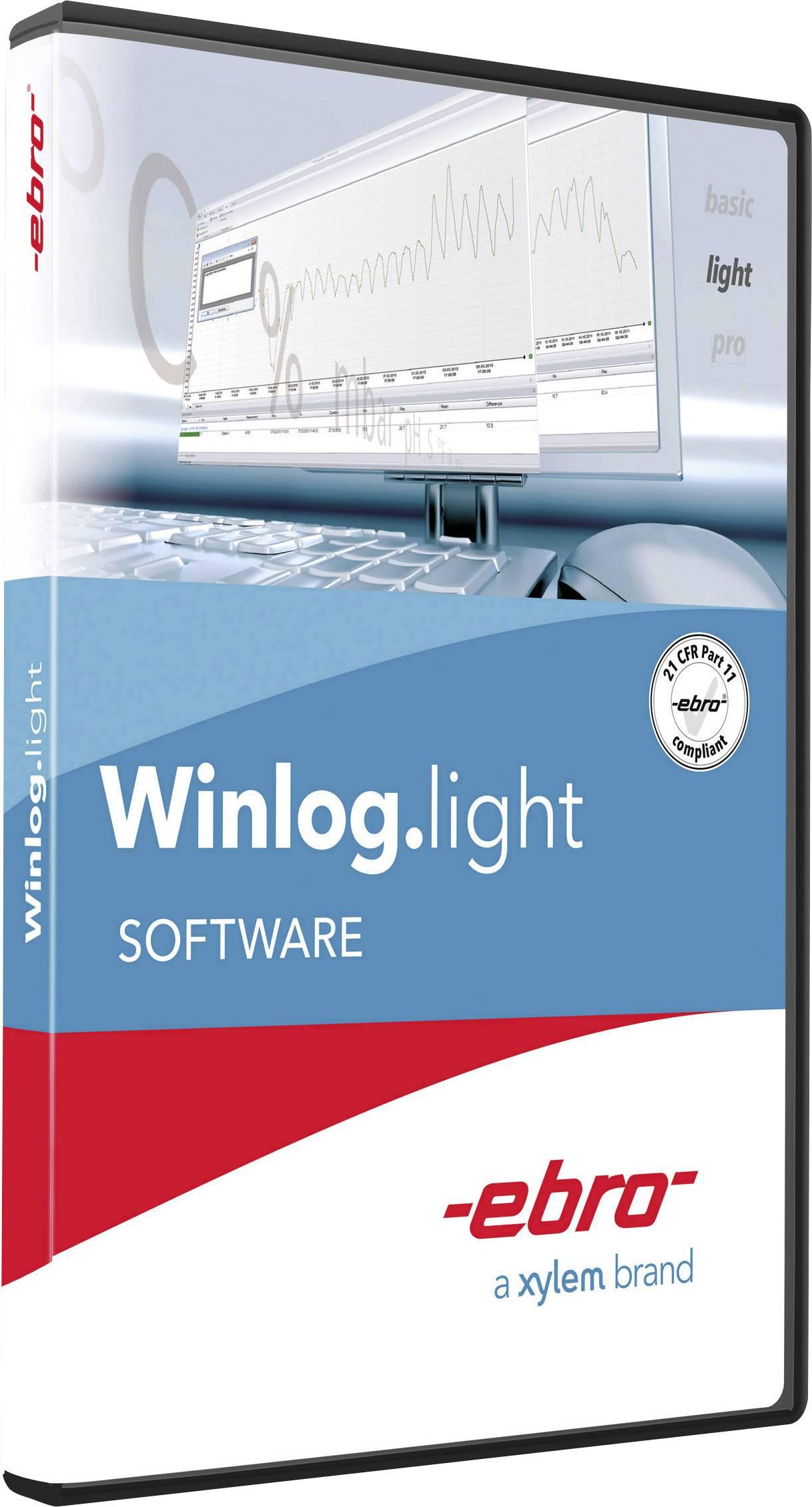 Softvér Ebro Winlog.light, 1340-2355, pre datalogger