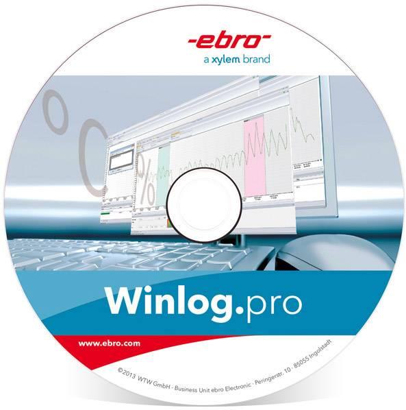 Softvér ebro Winlog.pro 1340-2355, pre datalogger