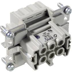 Konektorová vložka, zásuvka EPIC® H-B 6 10401000 LAPP počet kontaktů 6 + PE 10 ks