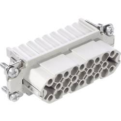 Konektorová vložka, zásuvka EPIC® H-D 25 11282300 LAPP počet kontaktů 25 + PE 5 ks